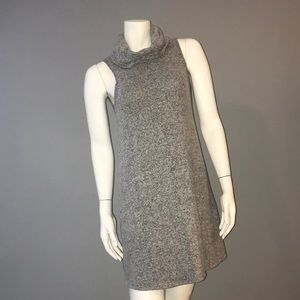 Express Gray Cowl Neck Dress